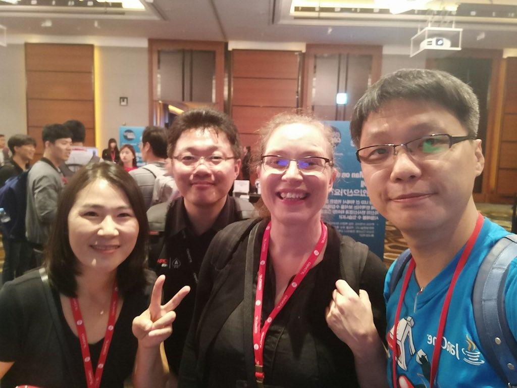 개발자 행사에는 이분들이 있어야죠: 양수열님, 김석님, 류수미 선생님