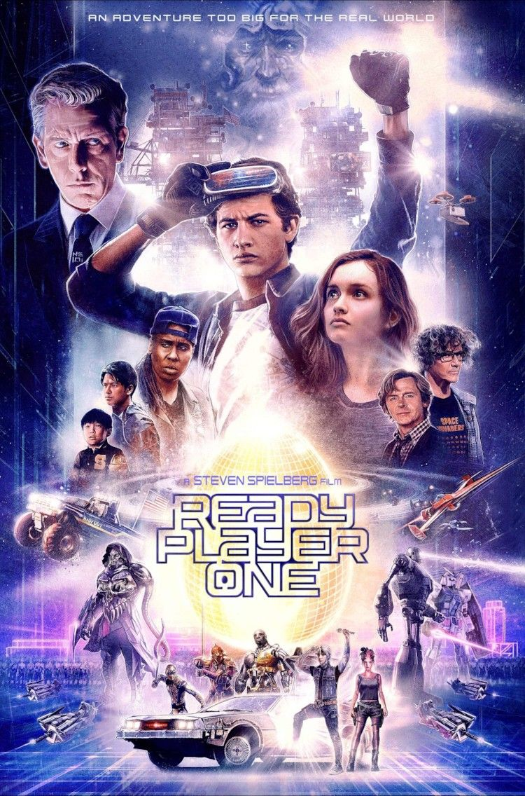 Ready Player One 메인 포스터