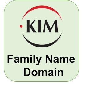 최초 Family Name 도메인 - kim