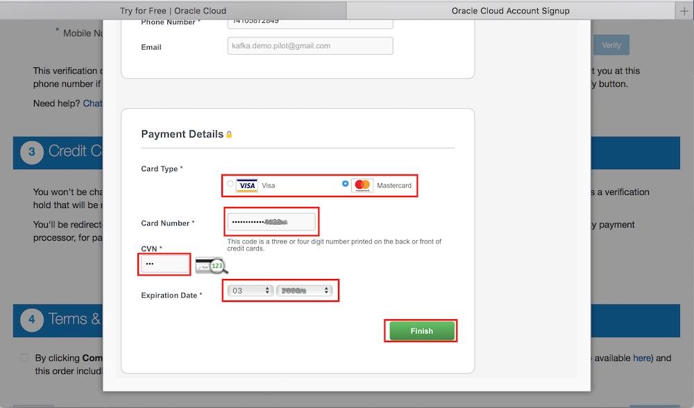 신용카드 정보 입력