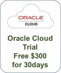 Oracle Cloud 트라이얼 신청 절차 (2018.05.01 기준)