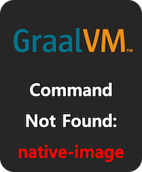 command not found: native-image