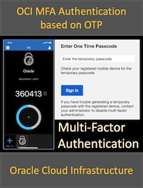 OCI 멀티 팩터 인증(Multi-Factor Authentication)