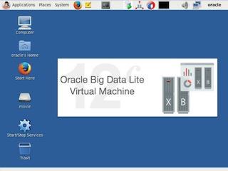 오라클 Big Data Lite 설치