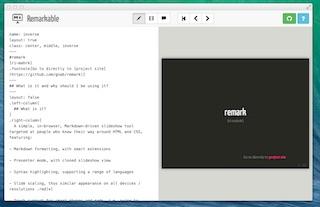 remark를 이용한 웹 프리젠테이션